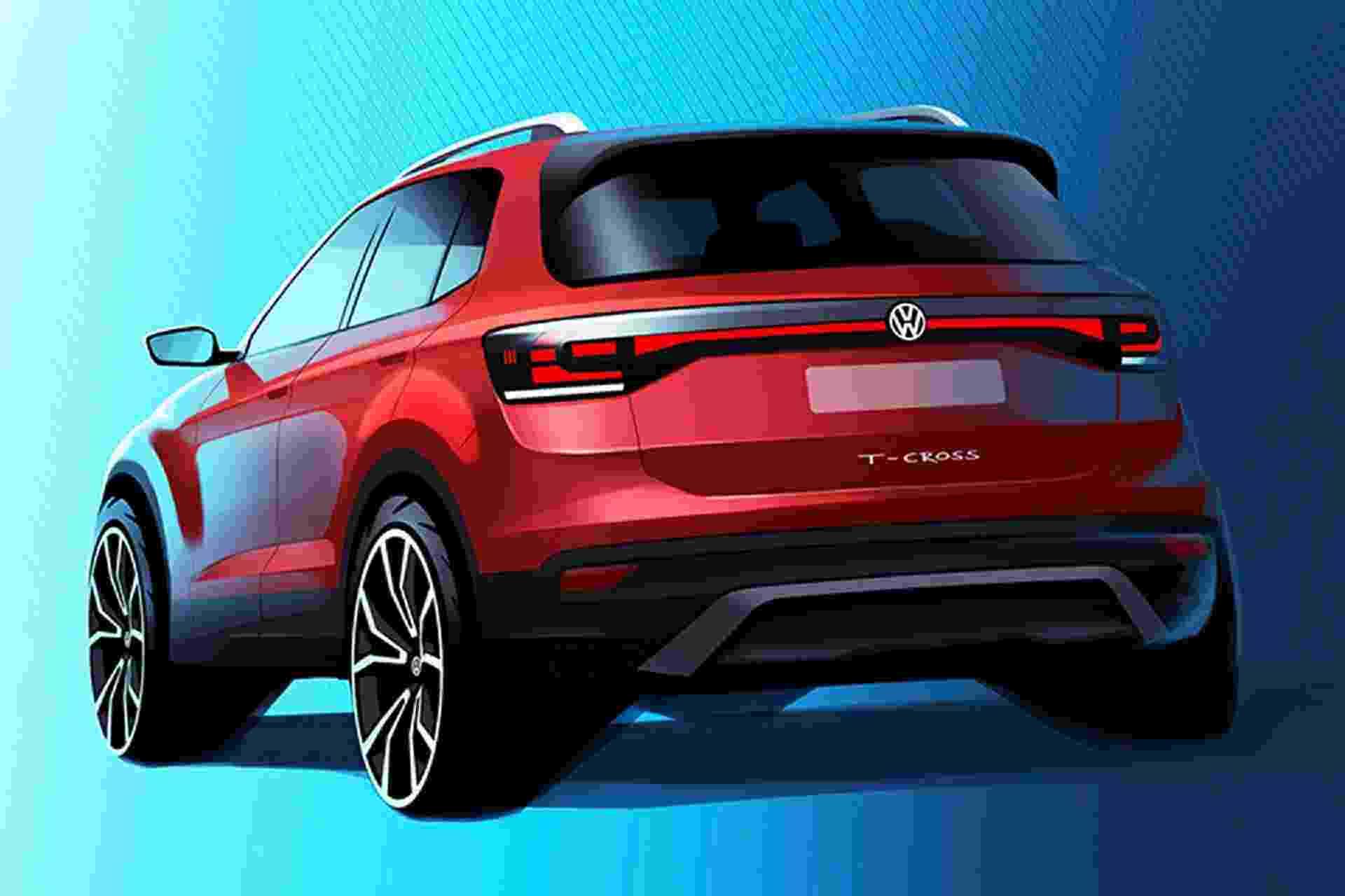 VW T-Cross - Divulgação