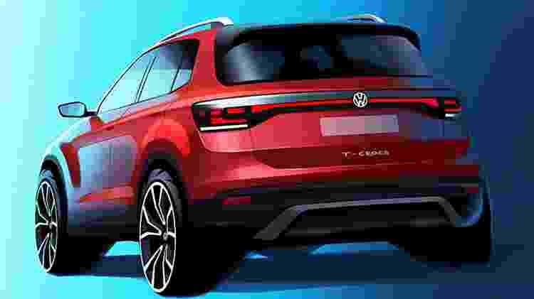 VW T-Cross - Reprodução - Reprodução