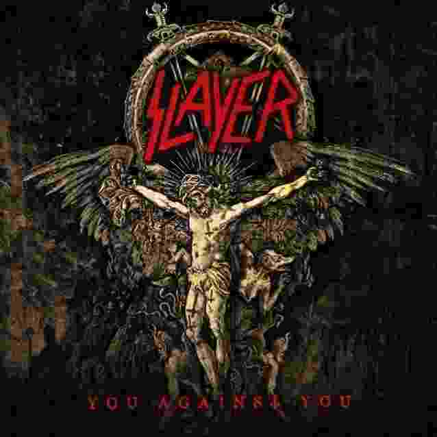 "Capa do single ""You Against You"", do Slayer, também produzida por Vasco - Marcelo Vasco/Divulgação"