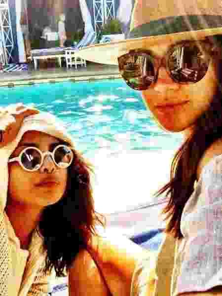 Priyanka Chopra e Meghan, a duquesa de Sussex - Reprodução/Instagram