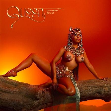 """Capa do disco """"Queen"""", de Nicki Minaj - Reprodução"""