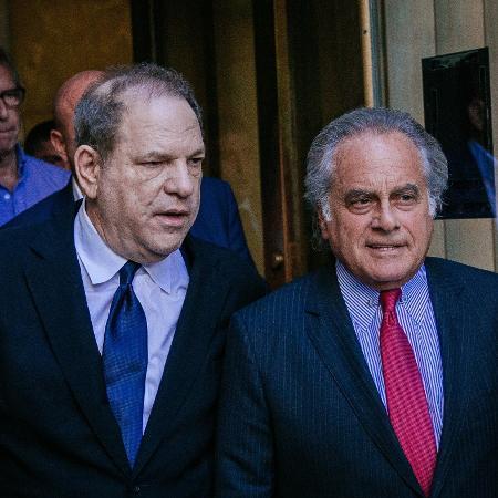 Harvey Weinstein e seu advogado, Benjamin Brafman - Kevin Hagen/Getty Images