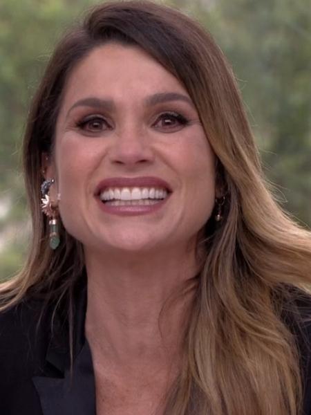 """Flávia Alessandra se emociona ao rever personagens de sua carreira no """"Vídeo Show"""" - Reprodução / TV Globo"""