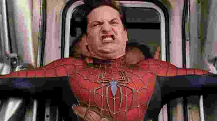 Tobey Maguire interpreta o herói Homem-Aranha - Divulgação - Divulgação