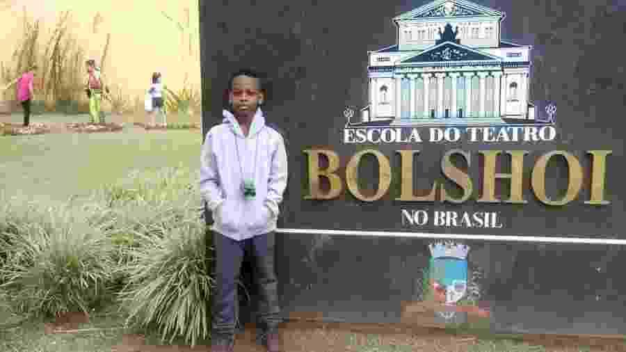 Jonathan Araújo estudará no Bolshoi - Reprodução/Twitter