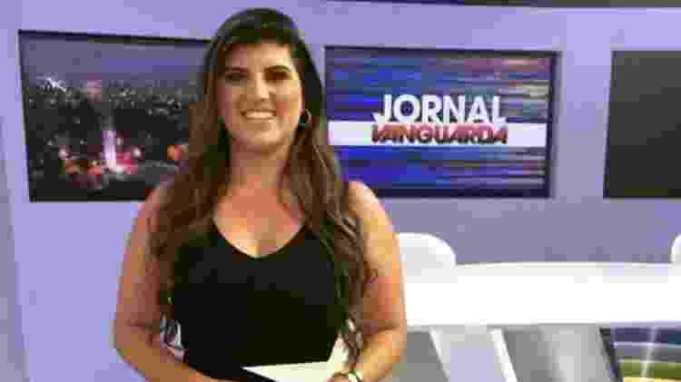 A apresentadora Michelle Sampaio afirma ter sido afastada da TV por não ter conseguido emagrecer - Reprodução/TVVanguarda