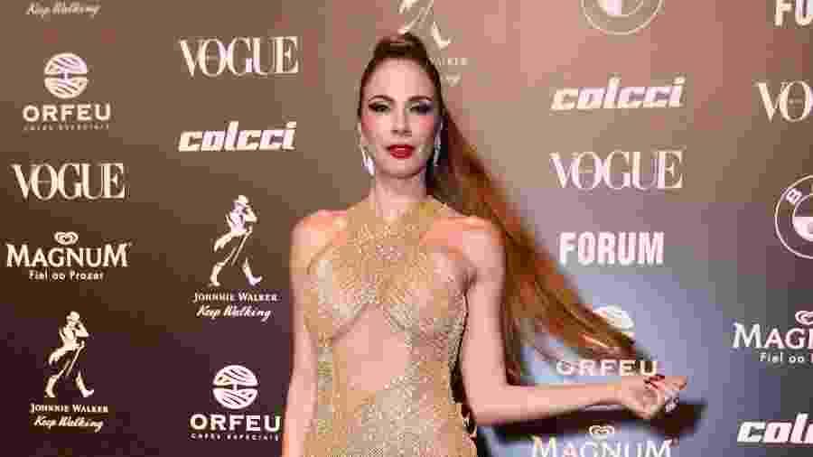 Luciana Gimenez no Baile da Vogue 2019, em São Paulo - Samuel Chaves e Manuela Scarpa/Brazil News
