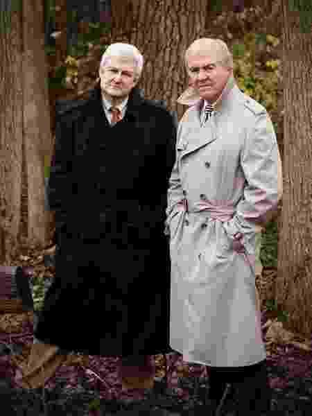 Mark Olshaker e John Douglas, autores de De Frente Com o Serial Killer - Divulgação