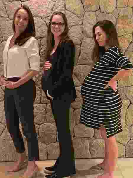Tatá Werneck e suas amigas grávidas - Reprodução/Instagram