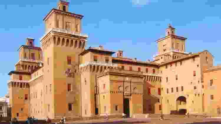 Castello Estense, em Ferrara, na Itália - Divulgação