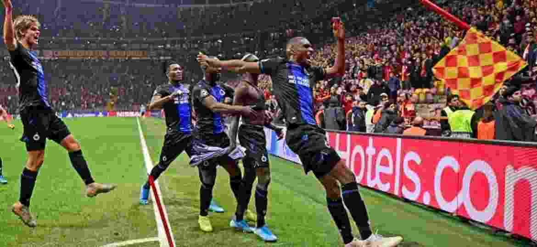 Dois jogadores do Club Brugge são expulsos após gol de empate - Photonews/Getty Images