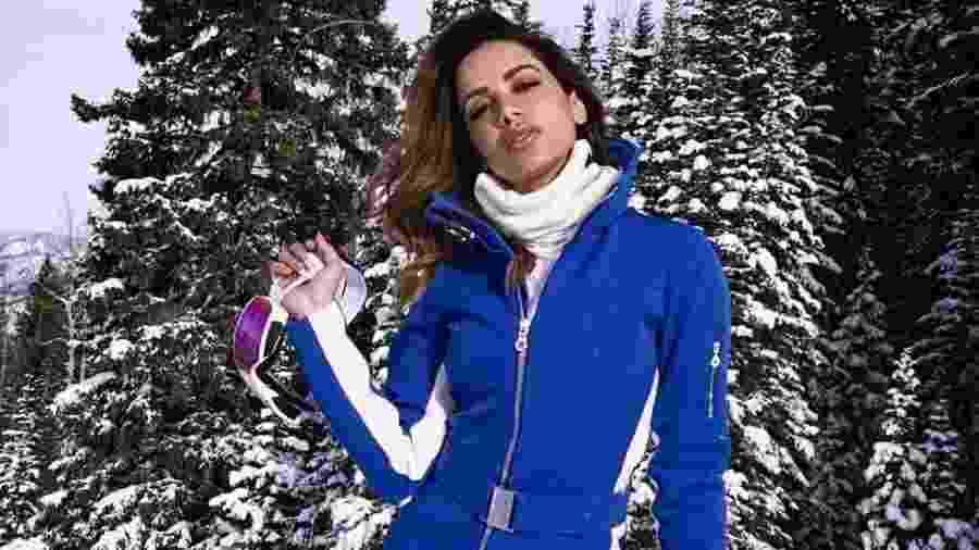 Anitta em estação de esqui nos Estados Unidos - Reprodução/ Instagram