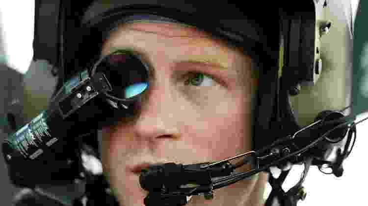 Harry serviu no Afeganistão como piloto de um helicóptero Apache - PA