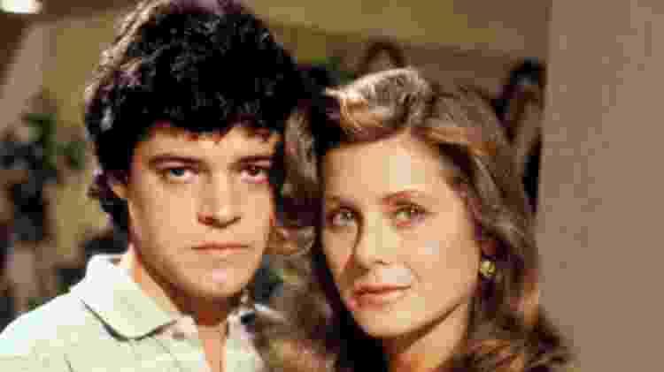 Vera Fischer e Felipe Camargo em 'Mandala' - Acervo/Globo