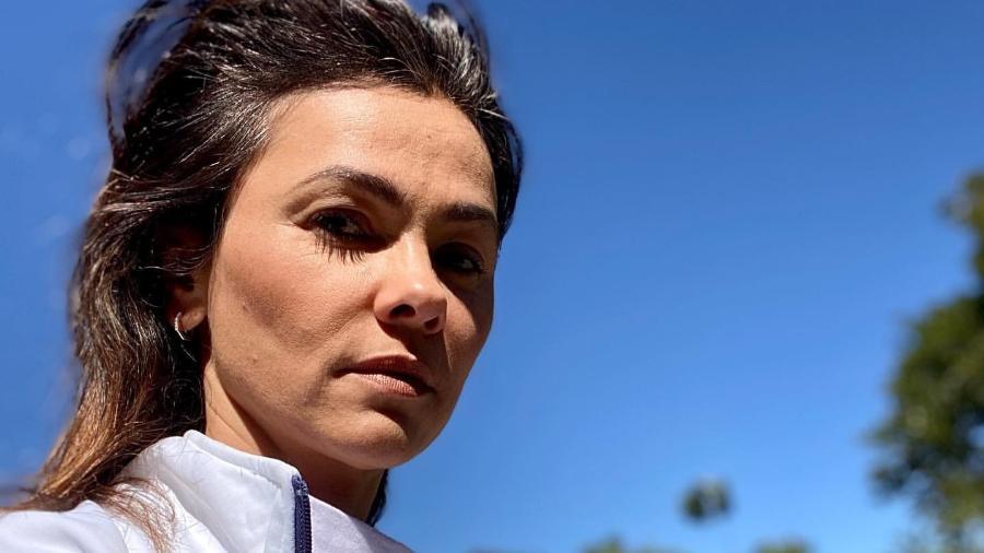 Suzana Alves, que interpretou a Tiazinha, deixou de pintar a raíz do cabelo - Reprodução/Instagram