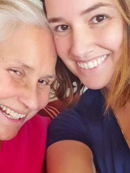 Fafá de Belém e a filha, Mariana - Reprodução/Instagram
