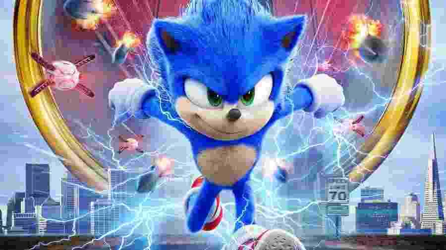 """""""Sonic: O Filme"""" (2020) - Divulgação/Paramount"""