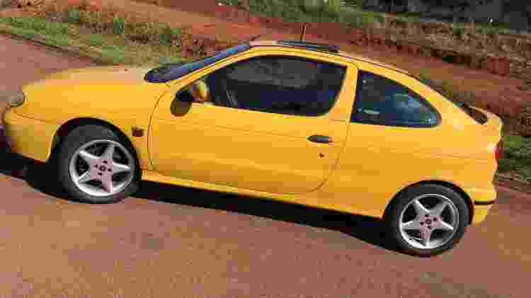 Renault Megane Coupé 2002 contrabandeado Alexandre Badolato lateral - Arquivo pessoal - Arquivo pessoal
