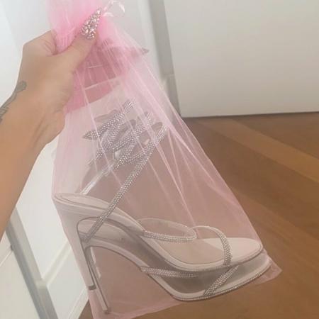 Luísa Sonza mostrou sandália de R$ 13 mil no Twitter - Reprodução/Twitter