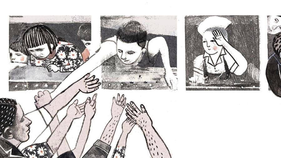 Ilustração do livro Mexique - Ana Penyas