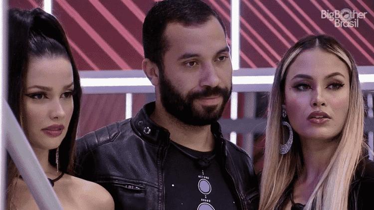 BBB 21: Juliette, Gilberto e Sarah - Reprodução/Globoplay - Reprodução/Globoplay