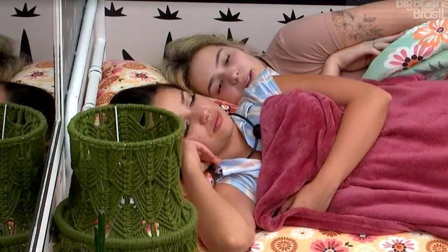BBB 21: Viih Tube e Juliette conversam no quarto - Reprodução/ Globoplay
