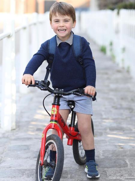 Príncipe Louis, filho de William e Kate Middleton - Reprodução/Instagram @kensingtonroyal