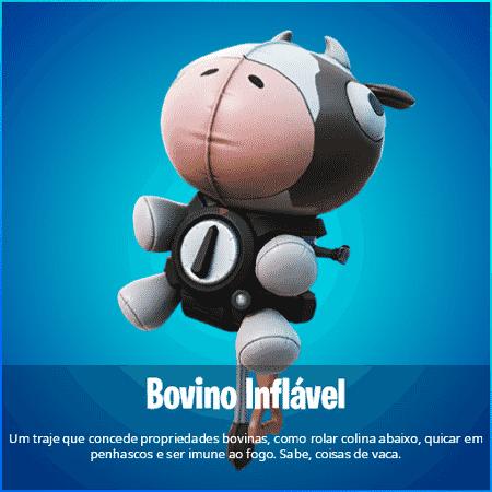 Fortnite Bovino Inflável  - Divulgação/Iannzits - Divulgação/Iannzits