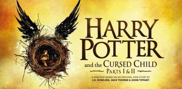 """Cartaz da peça """"Harry Potter and the Cursed Child"""" - Reprodução"""