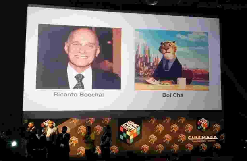 """5.dez.2015 - A Disney anunciou na Comic Con Experience que a versão nacional da animação """"Zootopia"""" terá um personagem brasileiro dublado pelo jornalista Ricardo Boechat - Reprodução/Twitter/CCNCast"""