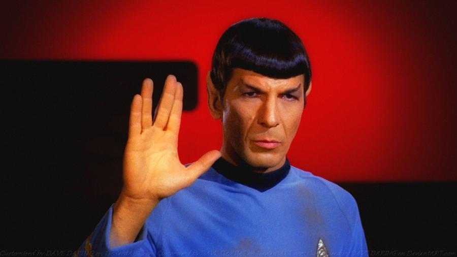 """Leonard Nimoy, o eterno Sr. Spock de """"Star Trek"""", famoso pelo bordão """"Vida longa e próspera!"""" - Divulgação"""