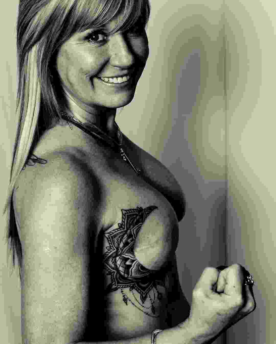 Projeto Personal Ink conecta vítimas de câncer de mama com tatuadores nos Estados Unidos - Reprodução/ Instagram @personal.ink