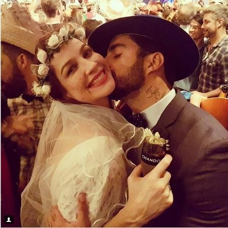 Luana Piovani e Pedro Scooby: casados novamente após festa junina - Reprodução/Instagram/pedroscooby