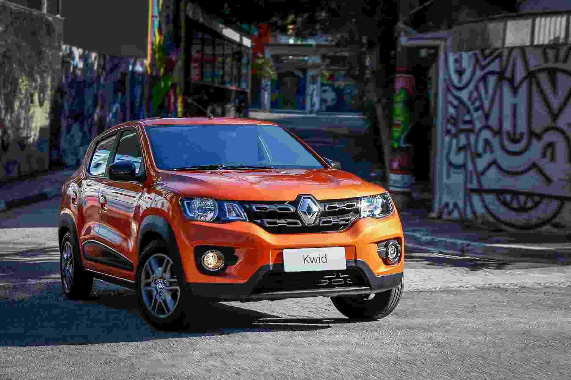 Renault Kwid Intense 2018 - Divulgação
