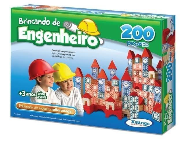 Brincando de Engenheiro, R$ 47,90, Xalingo para Casa da Educação