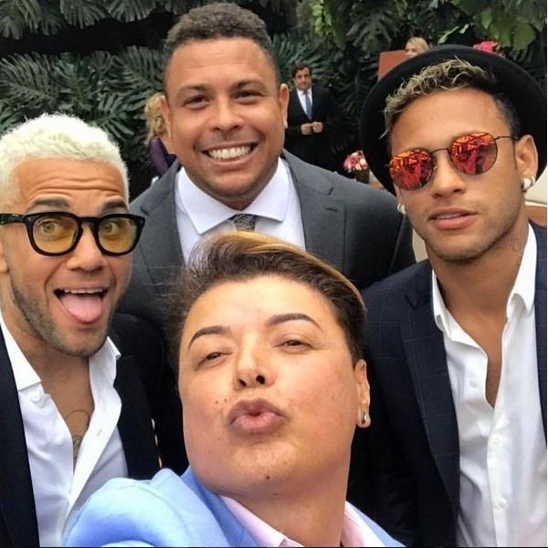 Neymar Daniel Alves Confira Os Boleiros Que Entraram: Veja As Fotos Dos Famosos No Casamento De Marina Ruy