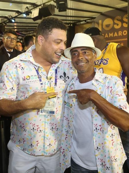 Na noite anterior, Romário esteve em outro camarote e se encontrou com Ronaldo - RT Fotografia/Brazil News/CS Eventos