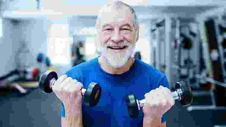 Musculação, idoso - iStock - iStock