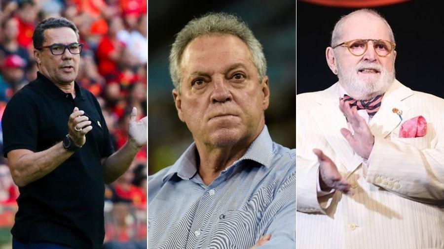 """Vanderlei Luxemburgo, Abel Braga e Jô Soares participarão do """"Debate Final ? Especialistas"""" na Fox Sports - AGIF/Divulgação"""