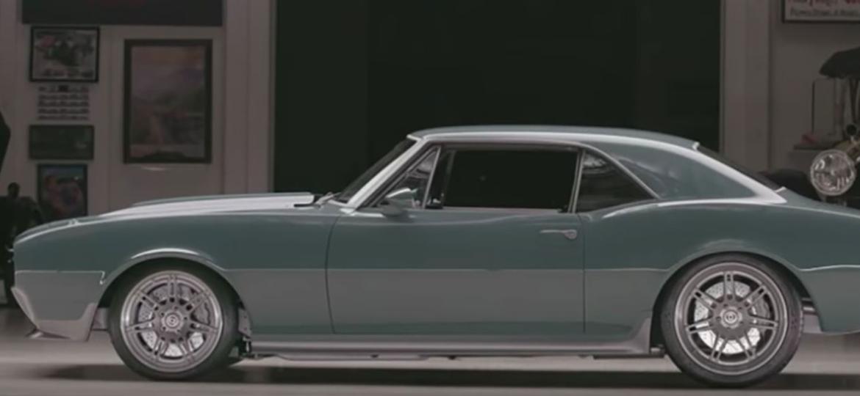 Camaro 1967 que Robert Downey Jr. deu de presente para Chris Evans - Divulgação