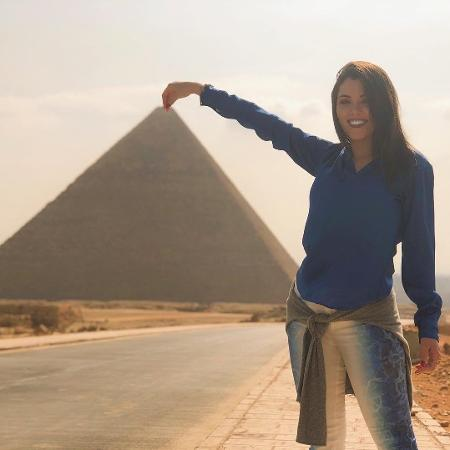 Ex-bailarina do Faustão, Fernanda Batista faz sucesso no Egito - Reprodução/Instagram/fernandagbatista