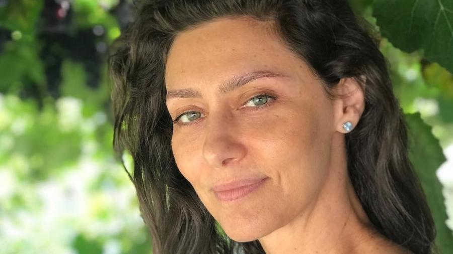 Maria Fernanda Cândido postou foto sem maquiagem - Reprodução