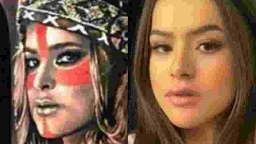 Seguidores dizem que tatuagem de rosto de Preta Gil parece com Maisa Silva - Reprodução/Instagram