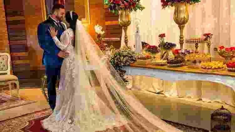 A ex-BBB Priscila e João Reis se casaram no sábado - Reprodução/Instagram - Reprodução/Instagram