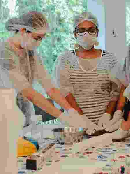 Curso de placenteiras feito pela organização Segredos da Placenta - Reprodução/Facebook