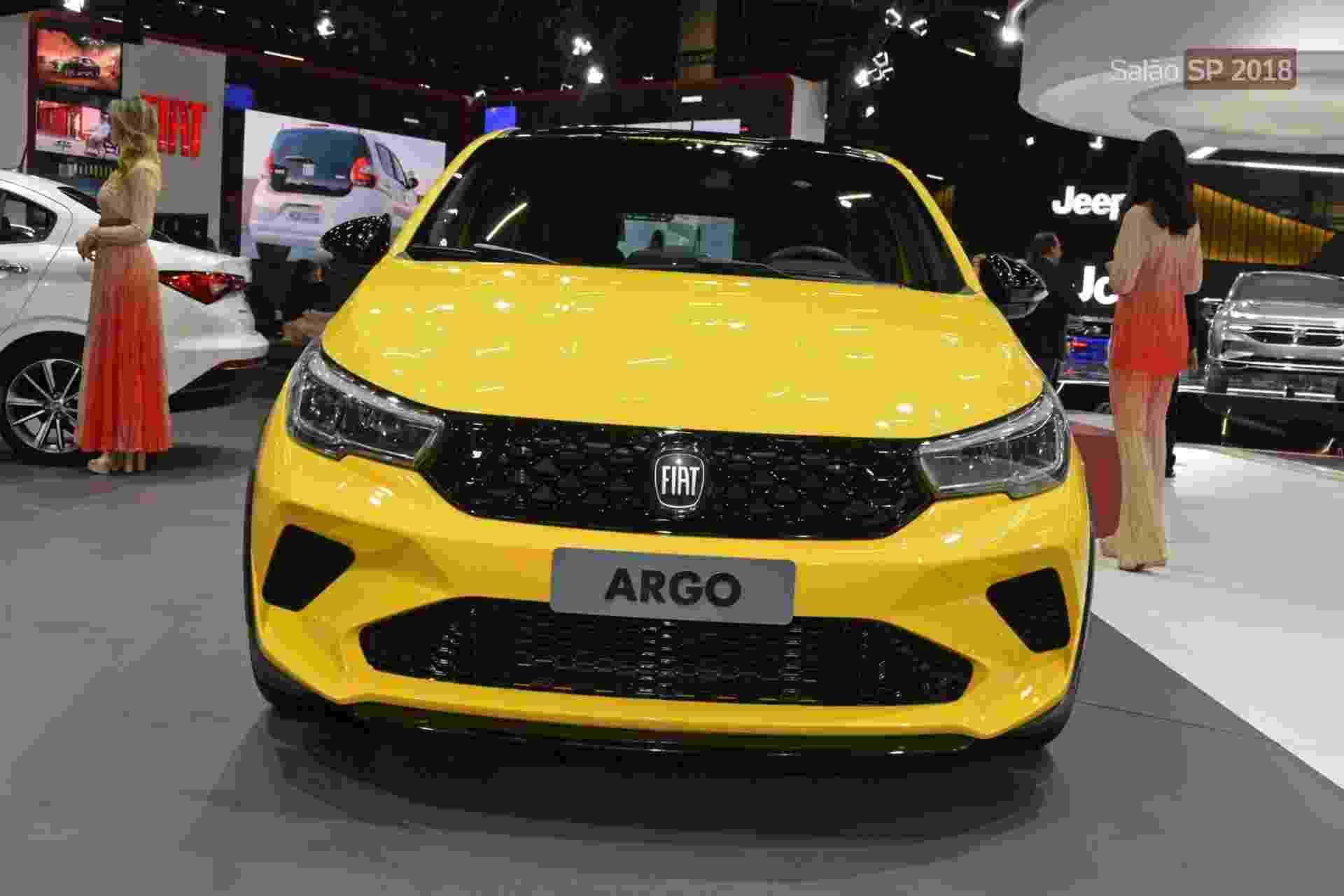 Fiat Argo Sting - Murilo Góes/UOL
