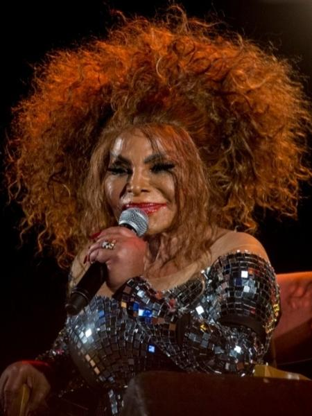 A cantora Elza Soares, durante show em maio passado. - Patricia Lino/Divulgação