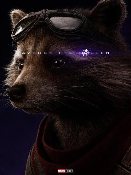 Rocket Raccoon, dublado por Bradley Cooper - Reprodução/Twitter