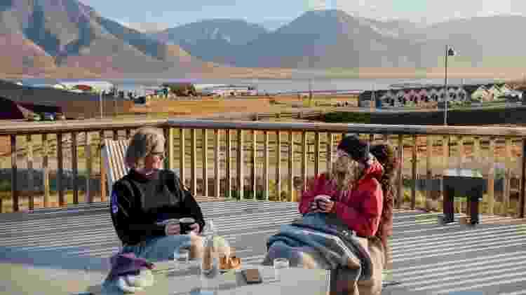 As paisagens que cercam o hotel norueguês são dignas de grandes fotos - Hurtigruten Svalbard/Agurtxane Concellon