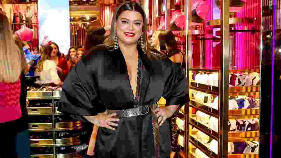 Preta Gil é uma das garotas-propaganda da marca Loungerie - Manuela Scarpa/Brazil News
